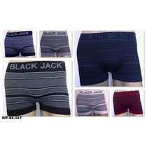 Cueca Boxer Black Jack Ou Men C/ 12 Unidades *promocao