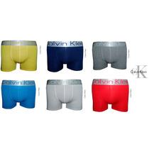 Kit Com 6 Cuecas Boxer Calvin Klein + Frete Grátis