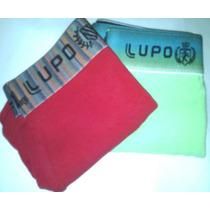 Kit Com 2 Cuecas Lupo P 38/40 Boxer Sunga Cotton C/ Elastano