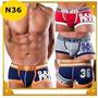 Cuecas Sunga Boxer Modelo 3 D Aumenta Volume- Original
