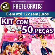 Kit Calcinha Short Box Infantil Sublimadas - Atacado Revenda