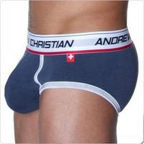 Cueca Slip Andrew Christian Confortavel Pronta Entrega Boxer