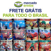 Cuecas Box Infantil Sublimadas Kit Com 100 Atacado + Brinde
