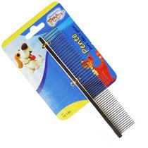 Pente Escova 49 Dentes 16,5cm Cães Cachorro Western #pet-93