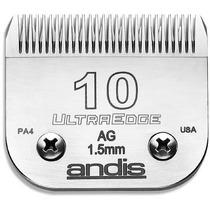Lamina De Tosa 10 Andis 1,5mm Profissional Aço Carbono 64071