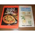 8 Livros: Cozinha Congelada / Pizzas / Bolos E Outros