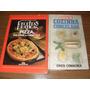 Livros:cozinha Congelada E Receitas De Pizzas/calzones - 2