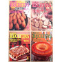 A4274 - 4 Revistas Nossas Receitas, Edições Claudia Cozinha