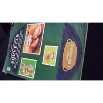 Livro Receitas De Sorvete E Sobremesas Geladas. Vintage