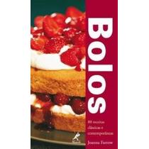 Livro Bolos - 80 Receitas Clássicas E Contemporâneas
