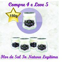 Flor De Sal Produzida No Brasil Artesanalmente Pote Com 150g
