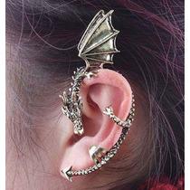 Bellydance-tribal-cigana-dança Ventre - Dragon Cuff Ear Clip