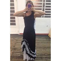 Traje P/ Flamenco (conjunto C/ 2 Saias E Blusa)