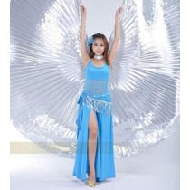 Bellydance-dança Do Ventre - Véu Wings Isis Todas As Cores