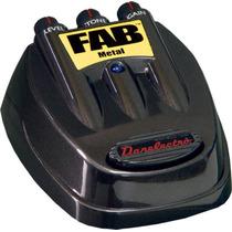 Pedal Metal D3 Fab Danelectro-em 10x No Cartão