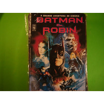 Cx B 99 Mangá Hq Dc Batman E Robin Gde Aventura Do Cinema