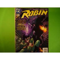 Cx B 48 Mangá Hq Coleção Dc Batman - Robin 137 - Ingles