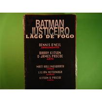Cx B 54 Mangá Hq Dc Colecion Batman Justiceiro Lago De Fogo