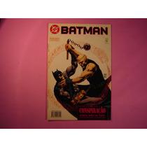 Cx B 45 Mangá Hq Coleção Dc Batman - Conspiração 3 De 3