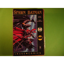 Cx B 55 Mangá Hq Dc Colecionador Batman E Spawn