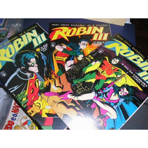 Robin 3 Mini-serie Em 3 Edições Editora Abril