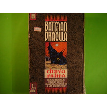 Cx B 104 Mangá Hq Dc Batman E Dracula - Chuva Rubra 1 De 3