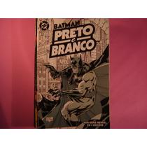 Cx B 12 Mangá Hq Coleção Dc Batman Preto E Branco Vol- 01