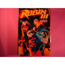 Cx B 13 Mangá Hq Coleção Dc Batman - Robin 3 - 2 De 3