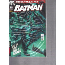 Batman Nº 83 - Funeral Para O Morcego - Dc - Panini Comics