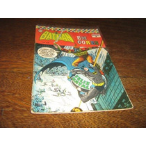 Batman Especial Em Cores Nº 37 Novembro/1973 Ebal Original