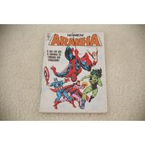 Gibi Homem-aranha Nº 66 1988 Dia Aranha Se Tornou Vingador