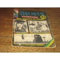 Batman Bi 1ª Série Nº 33 Agosto/1970 Ed Ebal Original Raro