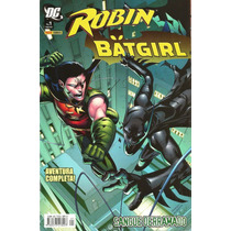 Robin & Batgirl: Sangue Derramado - Panini (novo)