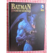 Batman O Filho Do Demônio - Capa Dura Panini