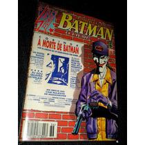 A Morte De Batman - O Filme -editora Abril - Heroishq
