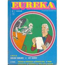 Eureka Nº 7 - Editora Vecchi - Jeff Hawke - 1974