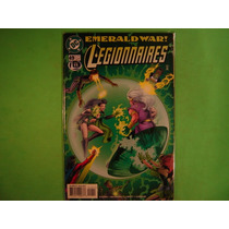 Cx Q 42 Mangá Hq Dc Marvel Emerald War! Legionnaries Vol 49