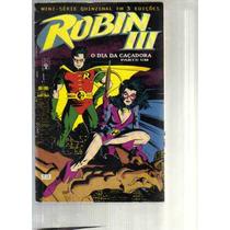 Coleção Robin 3 Mini-serie Em 3 Ediçoes - Editora Abril