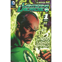 Lanterna Verde 01 Novos 52 Panini - Gibiteria Bonellihq ***