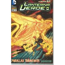 Lanterna Verde 36 Novos 52 - Panini - Bonellihq Cx313