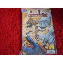 Lja - Liga Da Justiça Nº 17, 1ª Série, Aquaman,a Um Passo Do