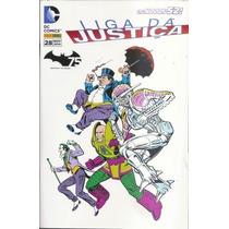 Liga Da Justiça ( Lja ) ( Os Novos 52 ) Nº 28 Capa Variante