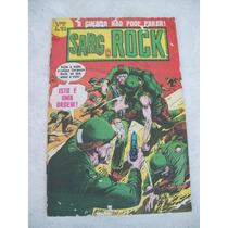 O Herói Nº 35 - Sargento Rock - 2ª Série - Ebal - 1980