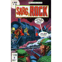 O Herói Nº 28 - Sargento Rock - 2ª Série - Ebal - 1980