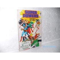 Hq Super Powers Nº 3 A Maior Crise Da Liga...ed.abril/1986 !