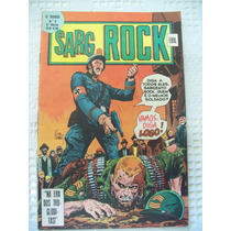 O Herói Nº 9 - Sargento Rock - 2ª Série - Ebal - 1978