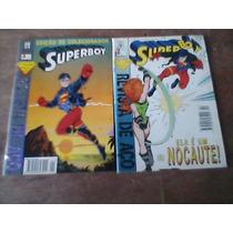 Lote Superboy Nº01 Ao 08 Raro Abril( Bloch Rge Gea Gep