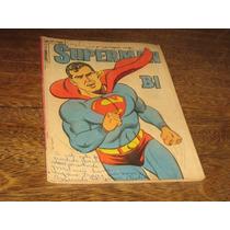 Superman Bi Nº 3 Julho /1965 Editora Ebal Original