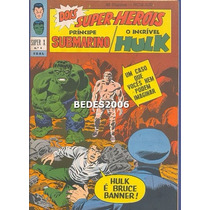 Super X - Namor & Hulk - Nº 4 - Ebal - 1967 - Excelente!