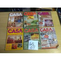 Lote Com 18 Revistas Casa Cláudia - Decoração